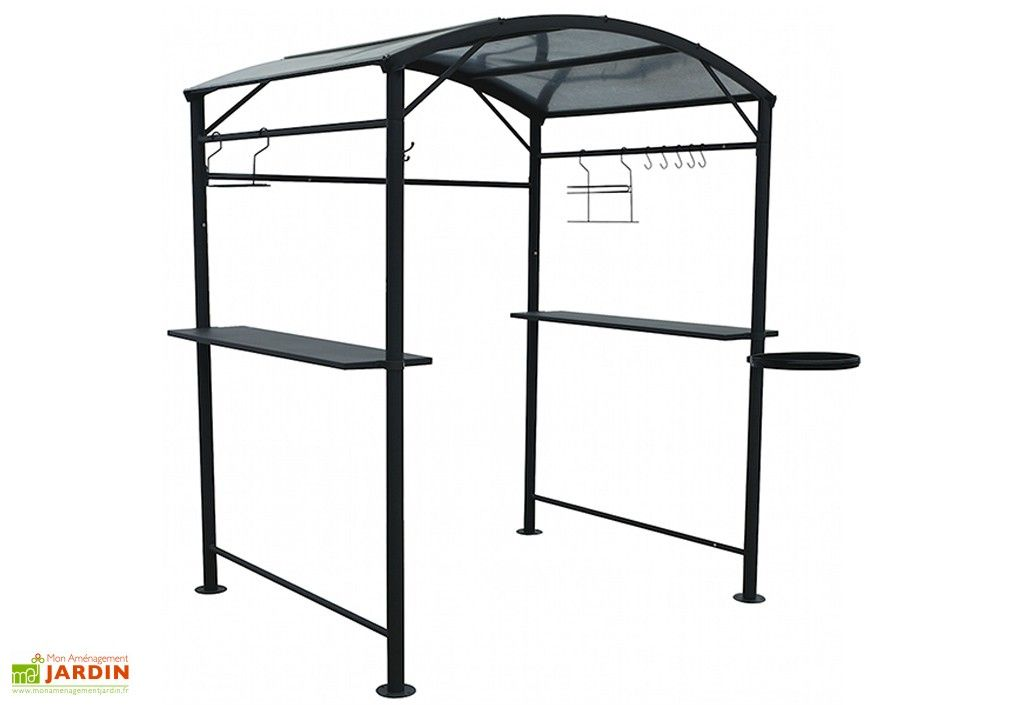 carport abri pour barbecue acier epoxy 167x128 epoxy. Black Bedroom Furniture Sets. Home Design Ideas