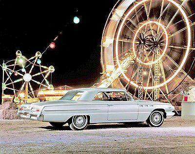 1962 Buick LeSabre Worldwide Debut - Promotional Photo Poster