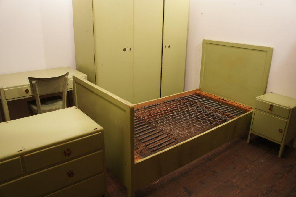 embru schlaf zimmer möbel 1940 Vintage