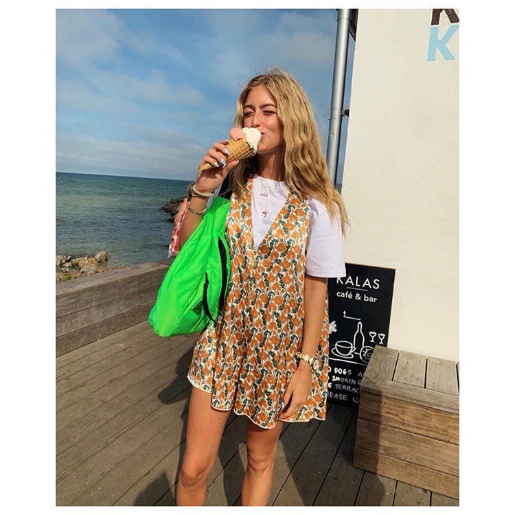 "Photo of ROTATE Birger Christensen on Instagram: ""#makeitrotate @emilisindlev wearing Style 8 – Floral Print"""