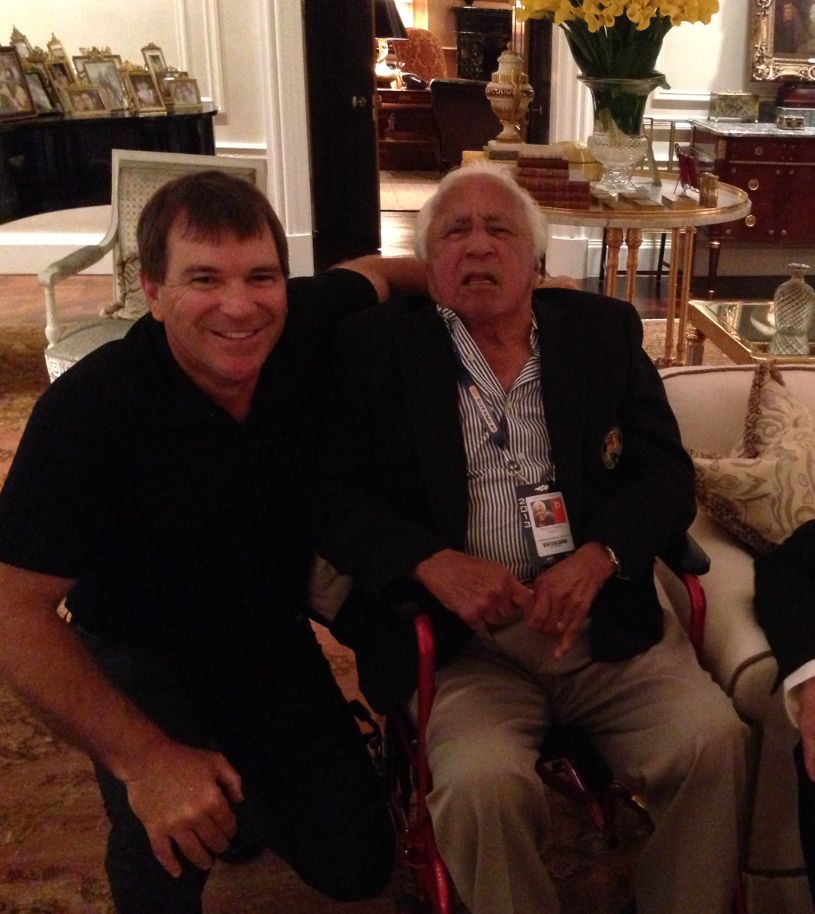 RIP our friend and a tennis legend... Thank you for what