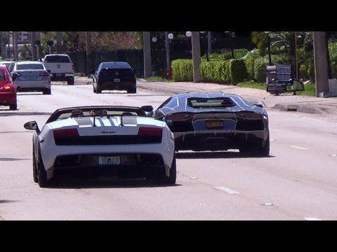 Cars And Coffee Lamborghini Bmw I8 Ferrari Mercedes Sls Amg