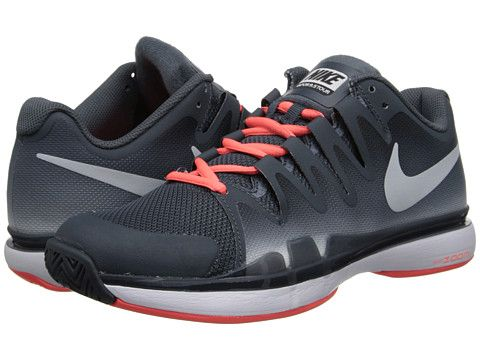 d2307649371f Nike Zoom Vapor 9.5 Tour Dark Magnet Grey Bright Mango Pure Platinum -  6pm.com