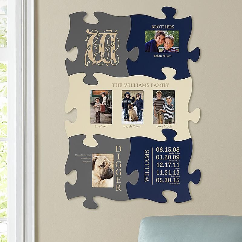 Family History Puzzle Set | Photo puzzle, Family history and Wood signs