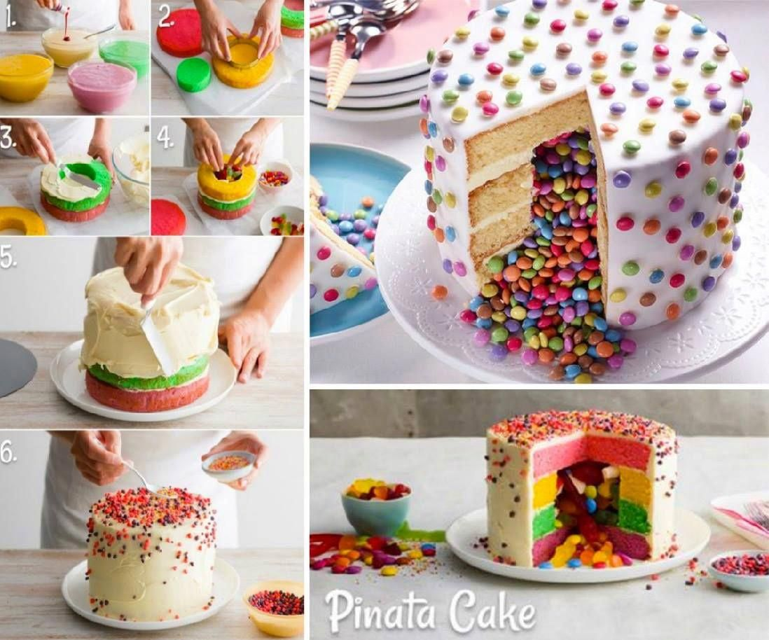 Photo of A Pinata Cake is perfect for Parties and they are so easy to make when you know …