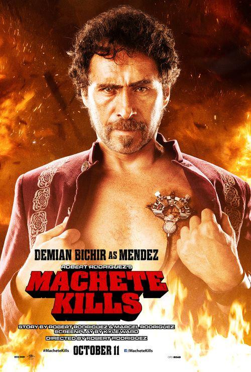 Machete Kills Demian Bichir Cine De Terror Cine