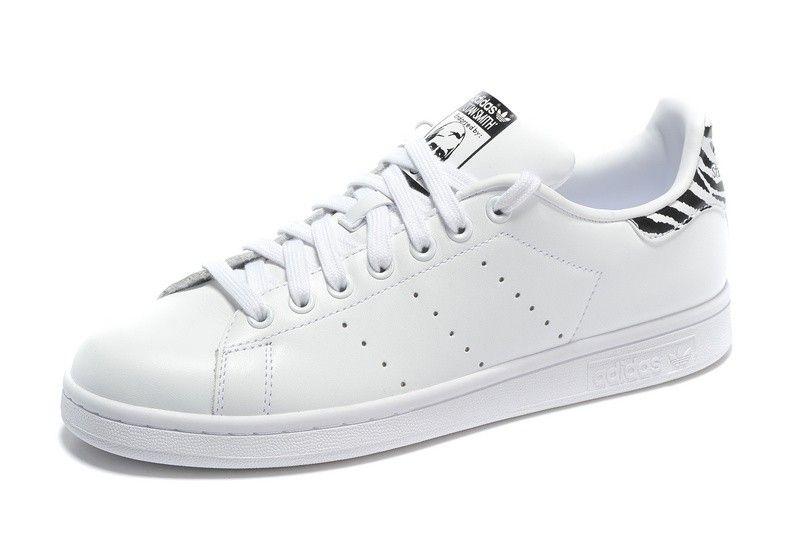 adidas stan smith originali uomini / donne scarpe casual bianco nero