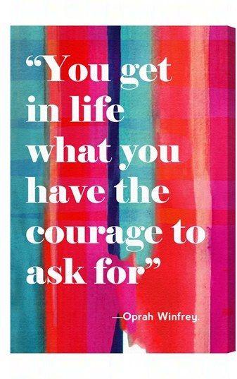 Oliver Gal 'Courage in Life' Wall Art    <>   @kimludcom   <>    www.kimlud.com