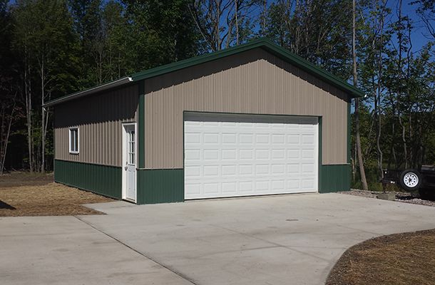 Lester Buildings Metal Shop Building Garage Style Garage Prices