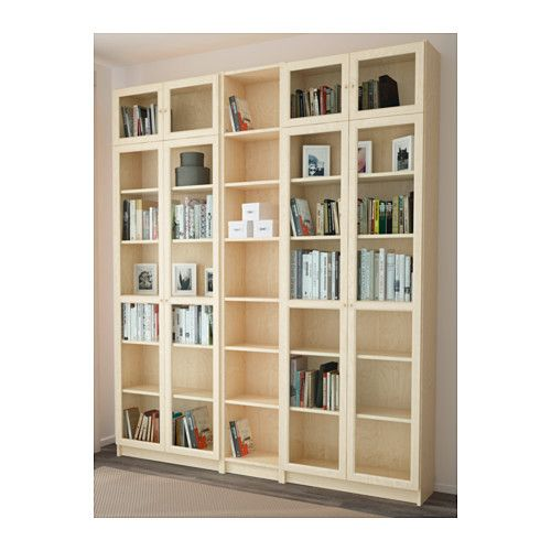 Billy Oxberg Librería Chapa Abedul Ikea Bookcasewood