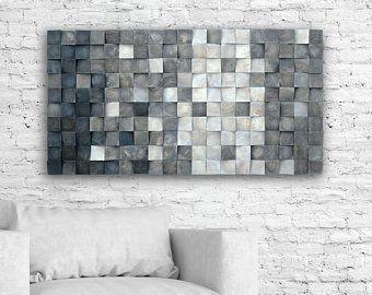 Produkty Podobne Do Wood Wall Sculpture Tropical Aqua 3d Effect Pixel Look Different Sizes W Etsy Mosaic Wall Wood Panel Wall Decor 3d Wall Art
