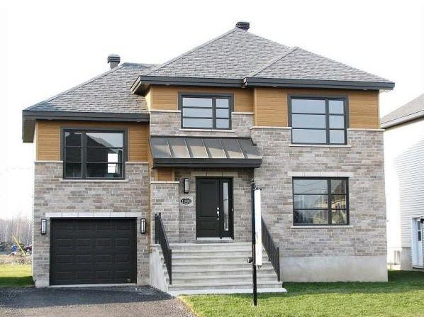 Le Raphael avec garage et séjour à visiter! 5 maisons modèles à - modeles de maison a construire