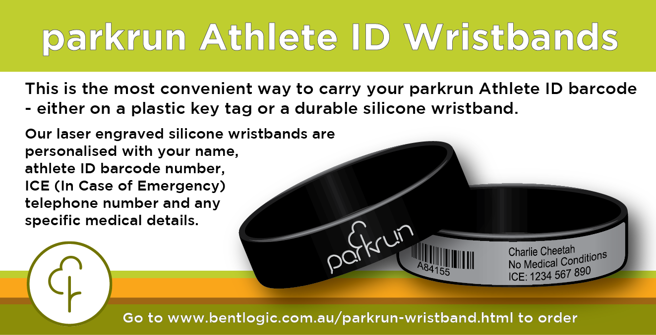 News Parkrun Australia Plastic Tags In Case Of Emergency Laser Engraving