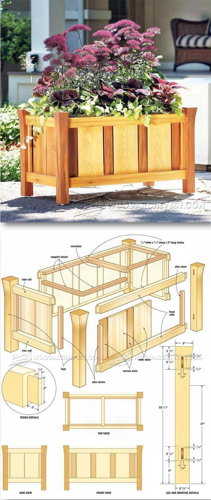 WoodArchivist.com | Woodworking DIY Plans | Pinterest | Woodworking ...