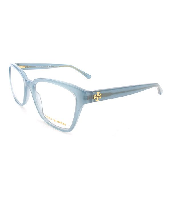 b90d989d9c78 Look at this Tory Burch Light Blue Oversize Eyeglasses on #zulily today!