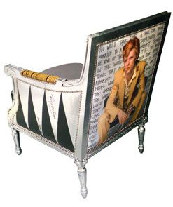BOWIE Arm Chair by Jimmie Martin (2012) - Recycle - Repurpose - Rescue - Upcycle