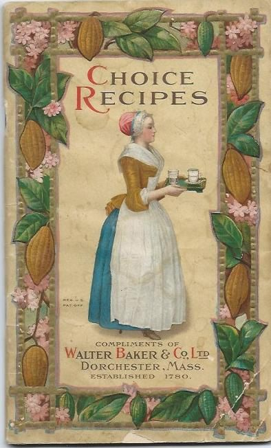 Walter Baker Co Choice Recipes Cookbook 1925 By Stuffgalore 6 50 Cookbook Recipes Vintage Cookbooks Cookbook