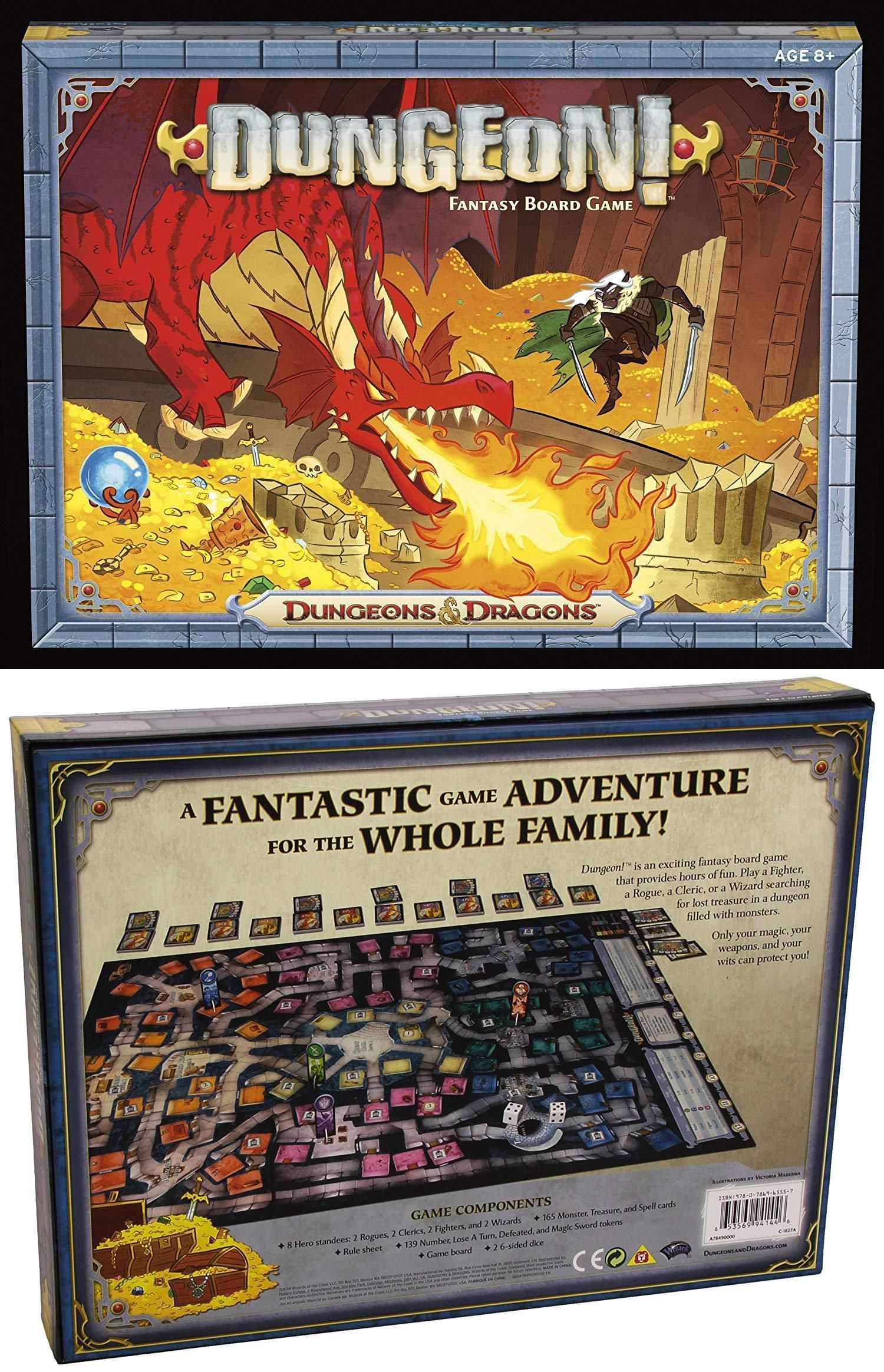 Wizards of the Coast A78490000 Dungeon! Fantasy Board Game