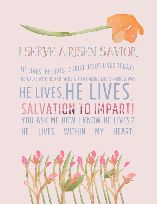 Lyric risen lyrics : Easter Hymn Lyrics | He Lives (or) I Serve a Risen Savior __ He ...
