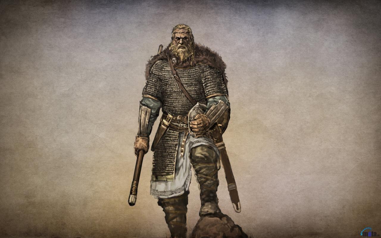 Download Wallpaper Knight of the game Mount & Blade (1280 x 800  widescreen). Desktop wallpapers and photos | Mount & blade, Fantasy  warrior, Viking warrior