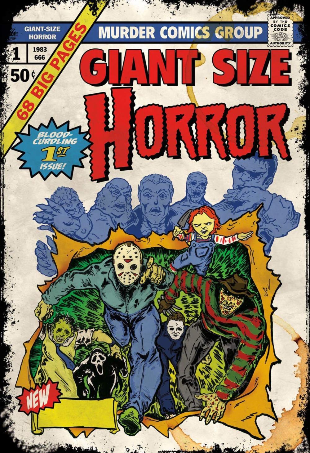 horror comic characters Búsqueda de Google en 2020