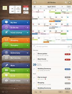 Awesome Note HD iPad English Evernote Trunk Allows