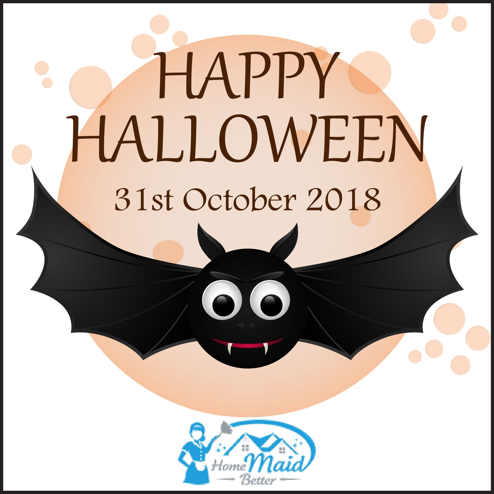 Happy Halloween. Halloween2018 House cleaning services