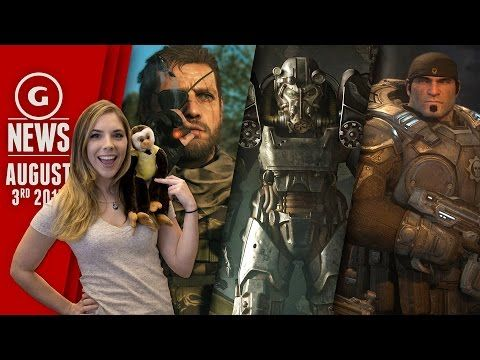 Fallout 4 Will Be Huge & Tons of Metal Gear Solid News - GS Daily News