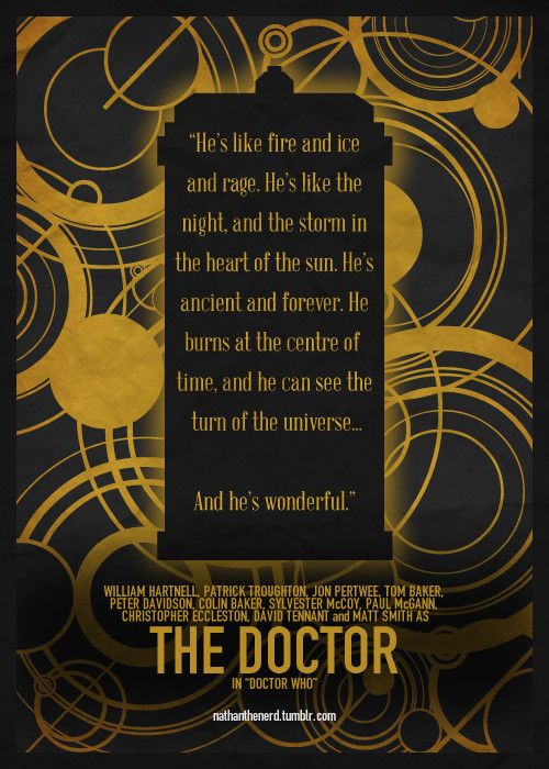 I love it! #DoctorWho