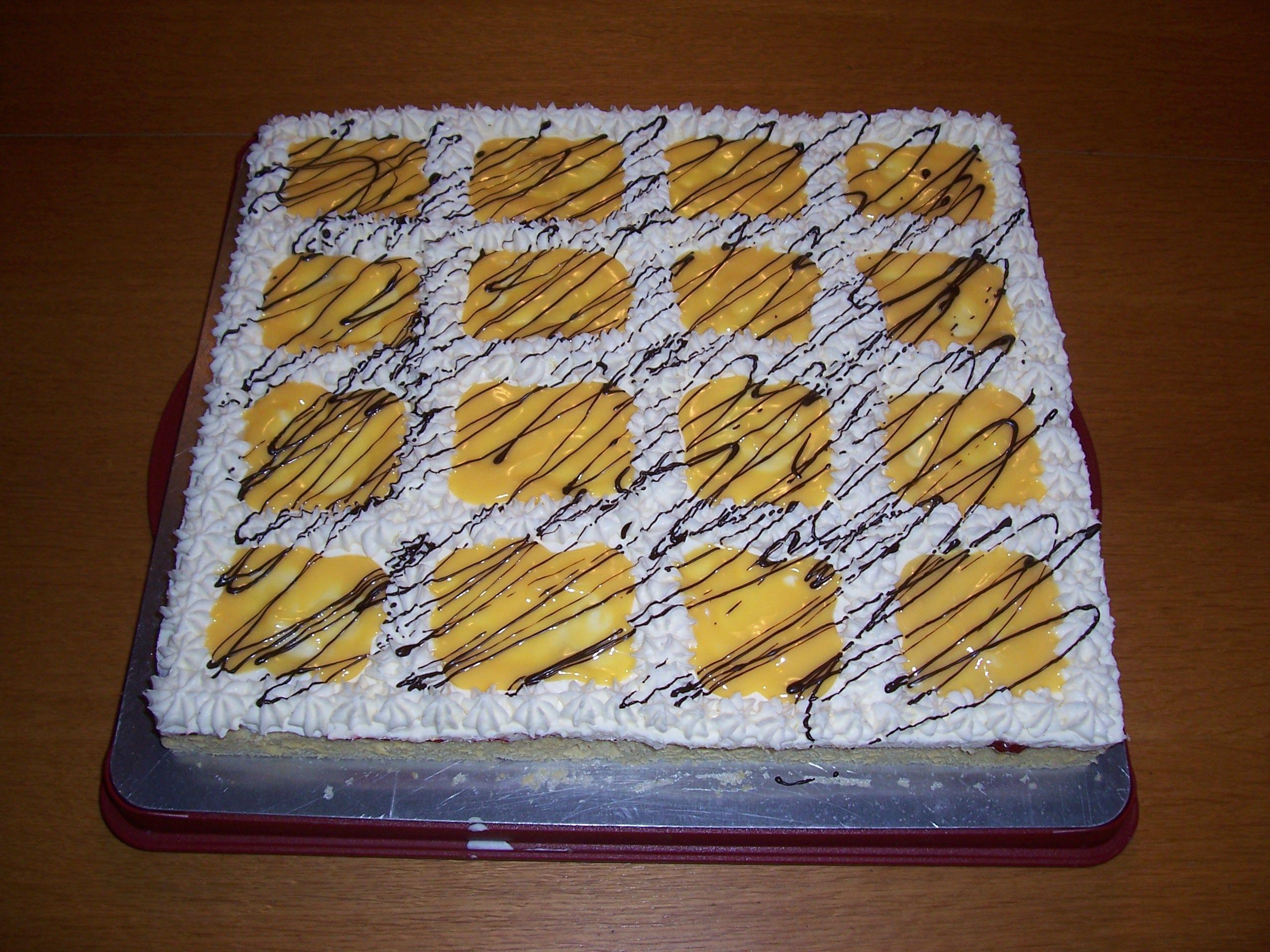 Rezept Beschwipste Banane - Blechkuchen von spatzele13 - Rezept der Kategorie Backen süß