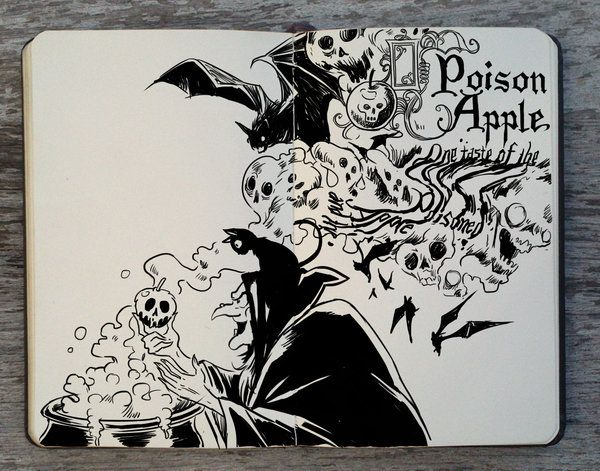 #267 Poison Apple by Picolo-kun.deviantart.com on @DeviantArt