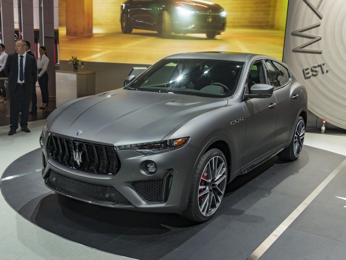 Affordable Luxury Cars >> 2019 Maserati Levante Trofeo Introduced Kelley Blue Book