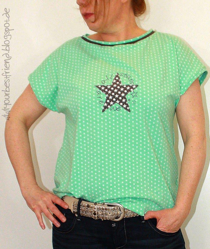 lillesol & pelle Schnittmuster/ pattern: Sommershirt / Shirt | Nähen ...