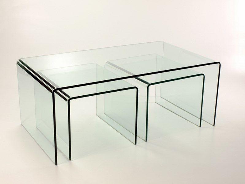 Bent Acrylic Coffee Table