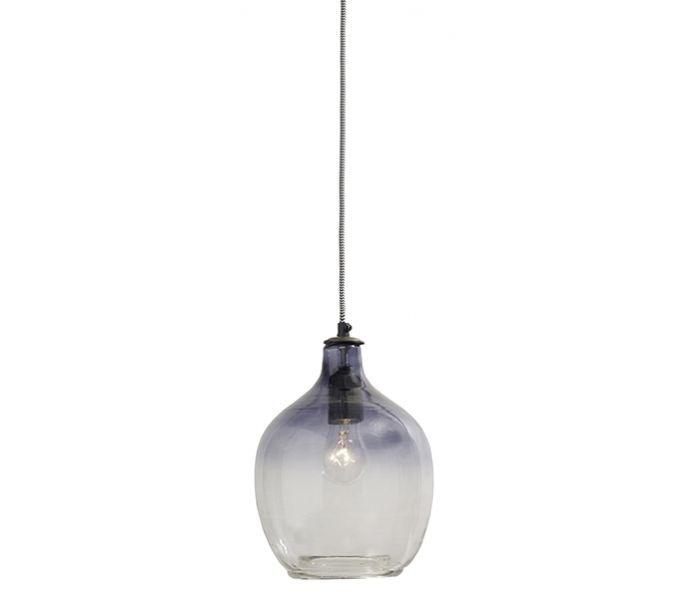hanglamp bubble nordal smoke h 26 cm hanglamp glas smoked