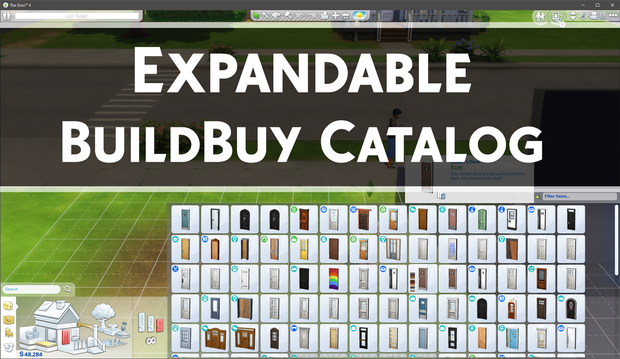 Expandable Buildbuy Catalog Public Release Twistedmexi On Patreon Sims 4 Sims 4 Cheats Sims