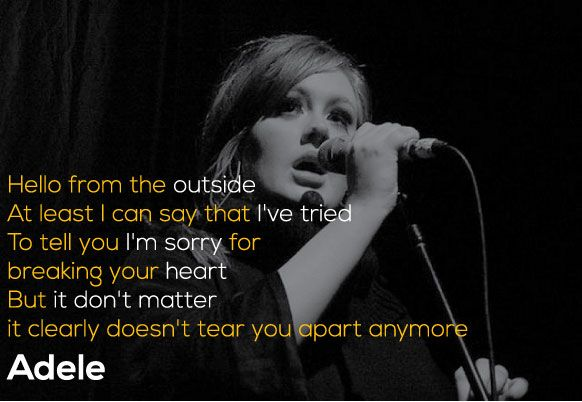 Adele Quotes The Best Lyrics and Lines from 19, 21 and 25