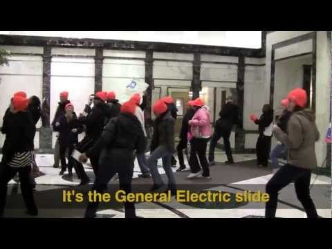 MassUniting performs the  General Electric Slide   Lyrics also here     MassUniting performs the  General Electric Slide   Lyrics also here  http