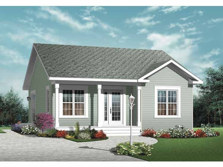 Eplans Country House Plan Two Bedroom Country 835 Square Feet And 2 Bedrooms S From Epla Cottage Style House Plans Cottage House Plans Cottage Style Homes