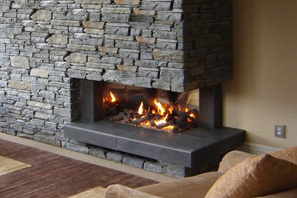 Gallery, Indoor Thermoflow and Outdoor Gas Fireplaces