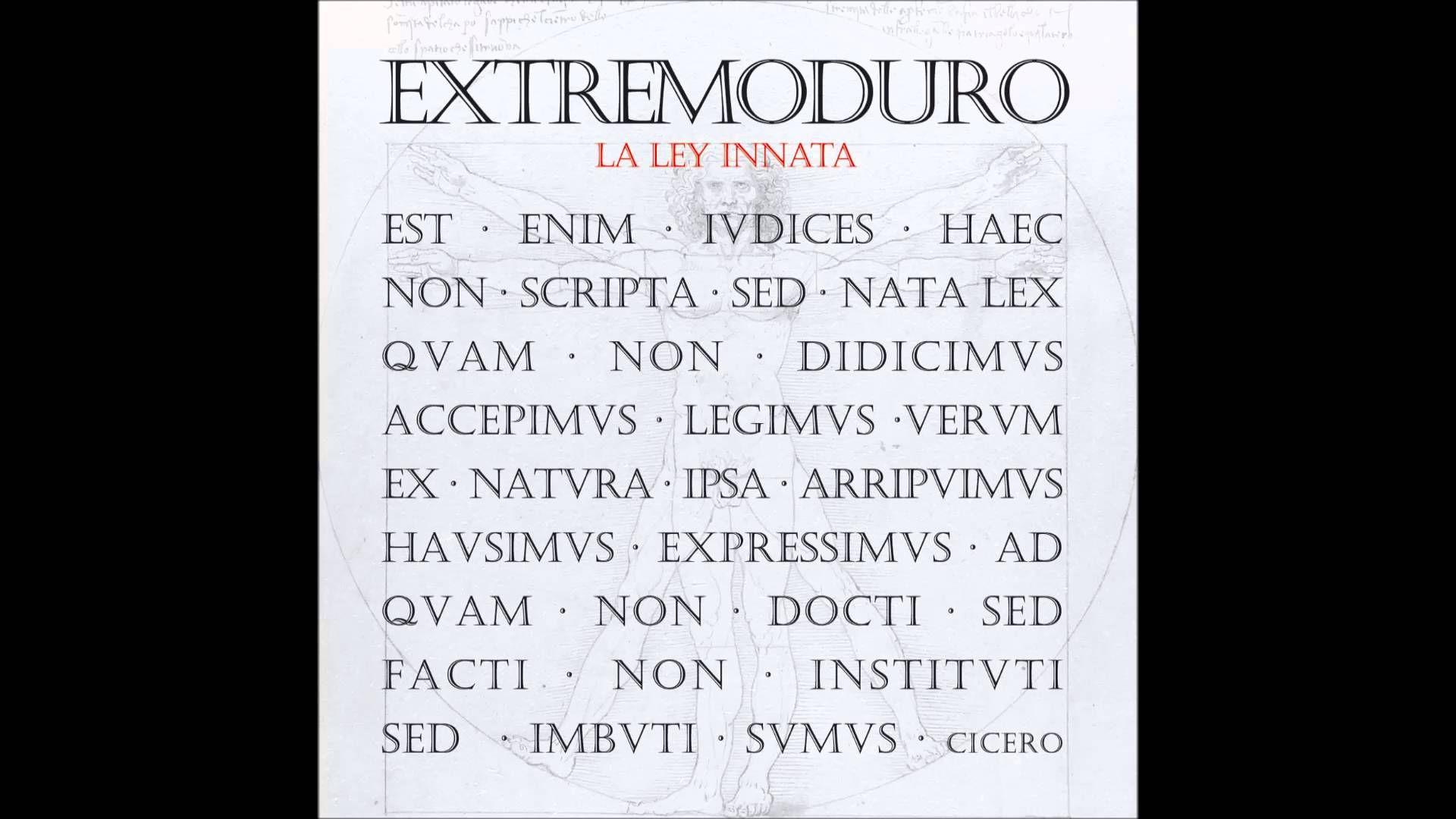 Extremoduro Tercer Movimiento Lo De Dentro Audio Oficial Audio Verdades Y Musica