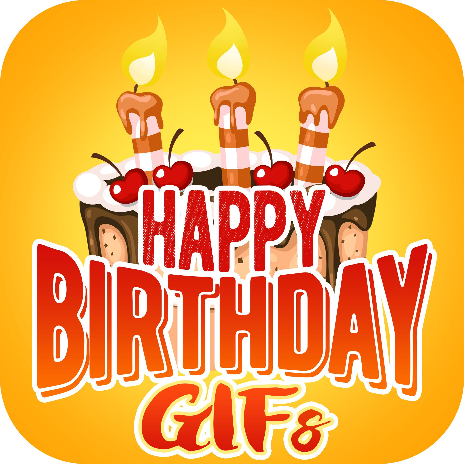 Happy Birthday Gifs Free Android App Lets You Send Cute And