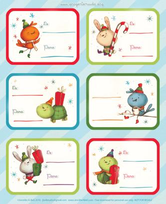 Mini Cartão De Natal Para Imprimir Natal Tags De Natal