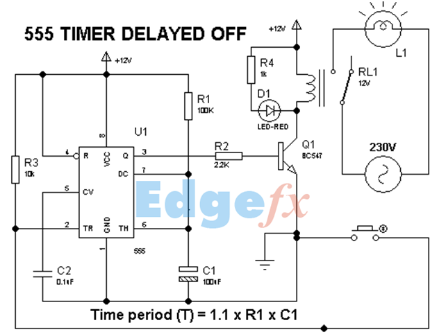 555 Timers 556 Timers 7555 Timers Basics Features And Application Electrical Circuit Diagram Circuit Timer