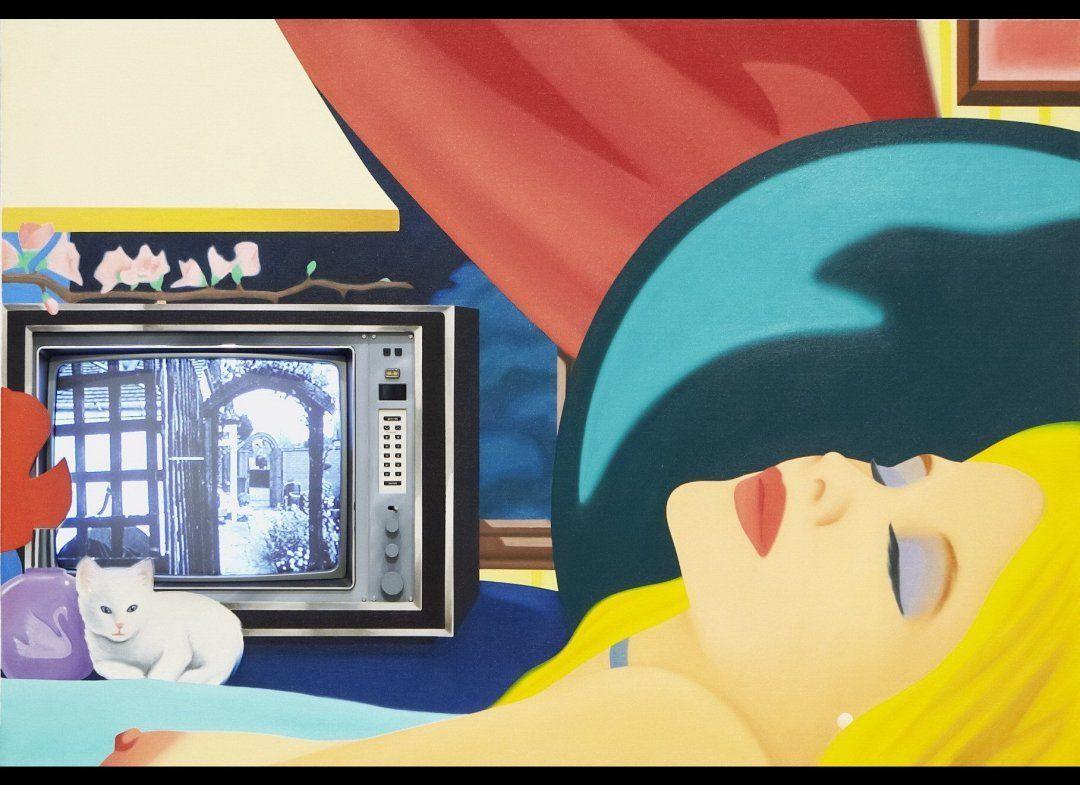 Collage Artist Tom Wesselmann Bedroom Painting 76  Pop