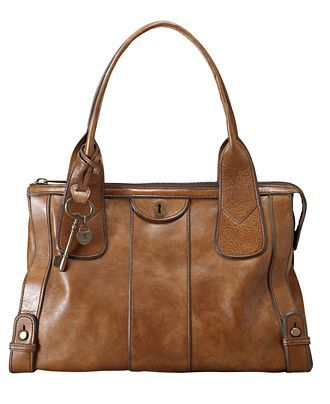 Fossil Leather Vintage Re-Issue Satchel