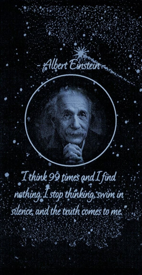 Albert Einstein Phone Wallpaper
