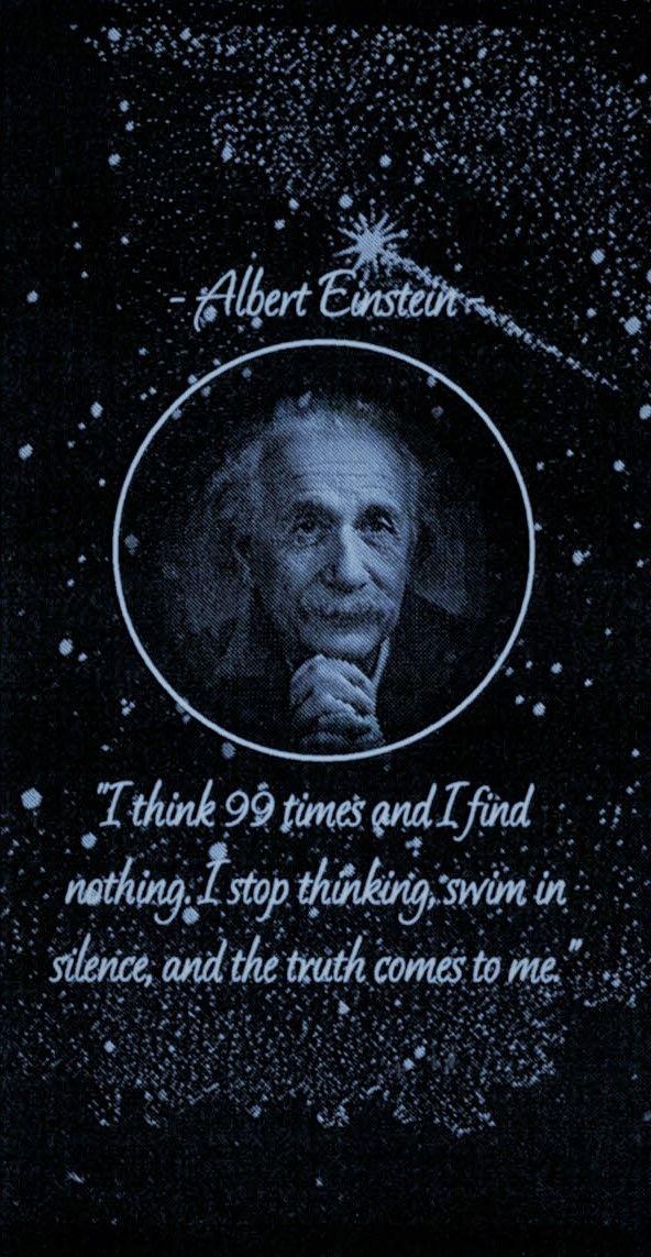 Albert Einstein Phone Wallpaper