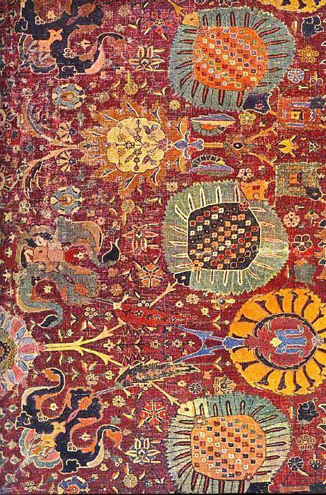 Persian Carpet carpets (con immagini) Tappeti antichi