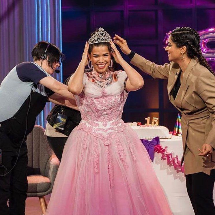 America Ferrera Gets The Quinceanera She Never Had Formal